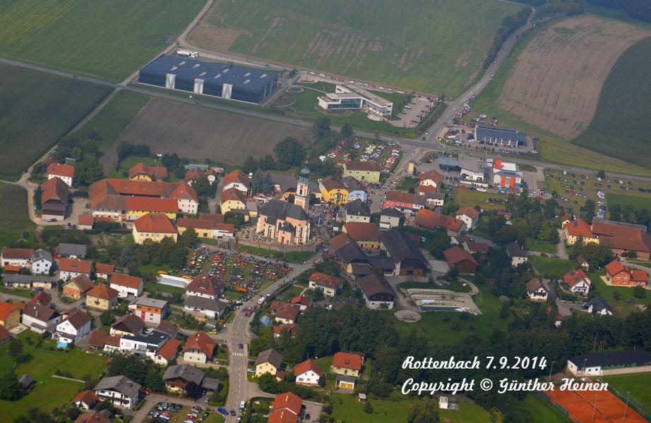 AMTC Oldtimer-Treffen von oben (Rottenbach)