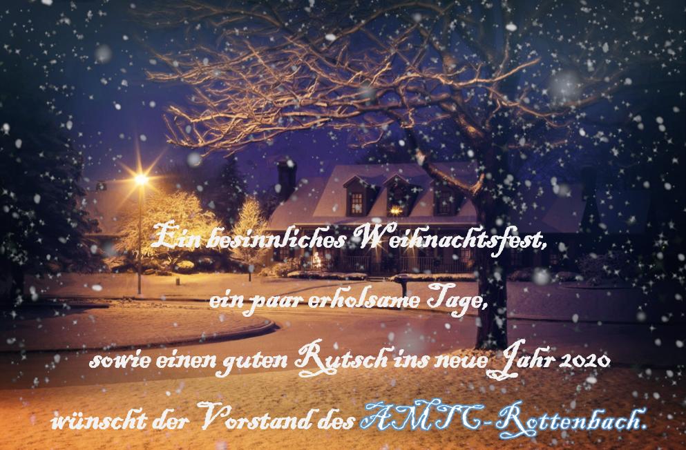 AMTC Weihnachtsfeier 2019