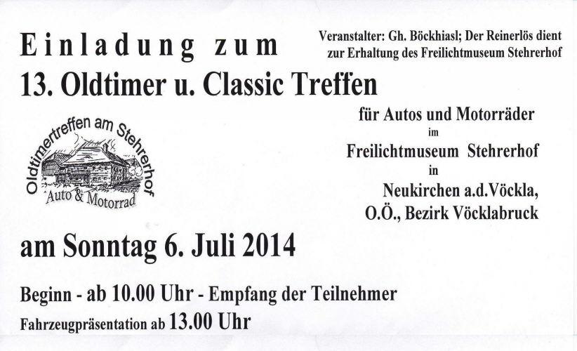 Oldtimer-Treffen Stehrerhof
