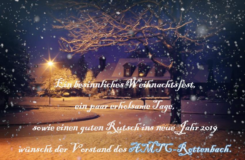 AMTC Weihnachtsfeier