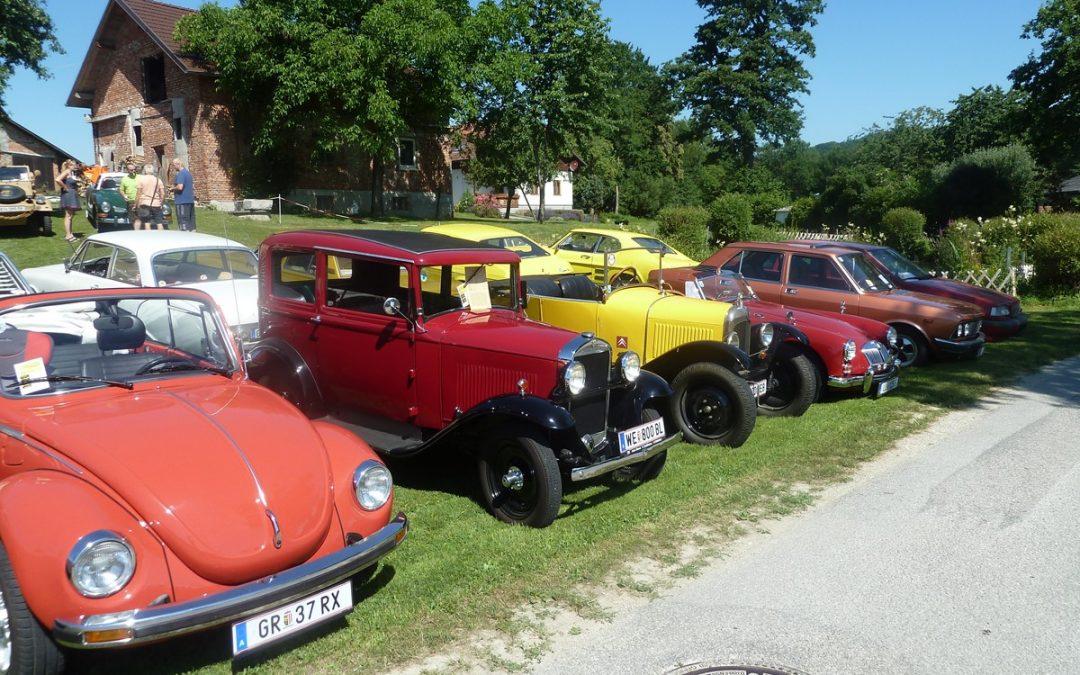 Tag der alten Fahrzeuge in Tolleterau